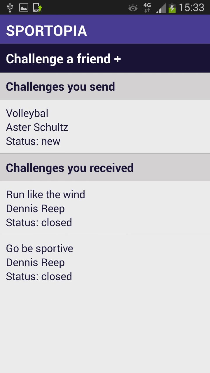 Sportopia Challenges