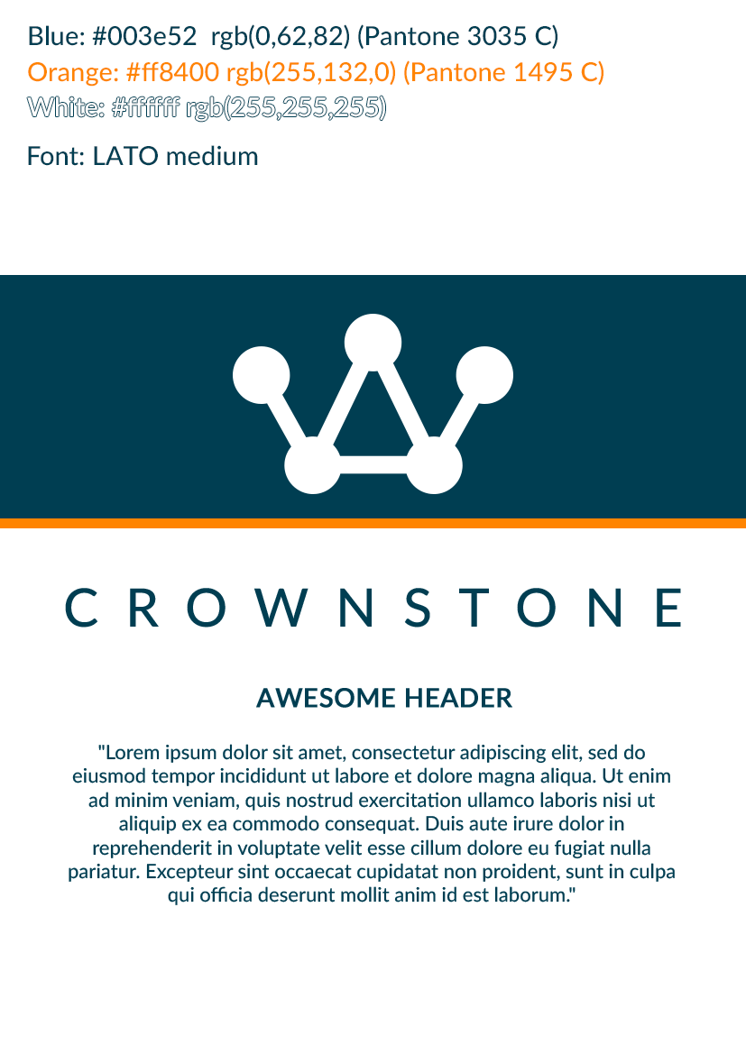Crownstone Styleguide
