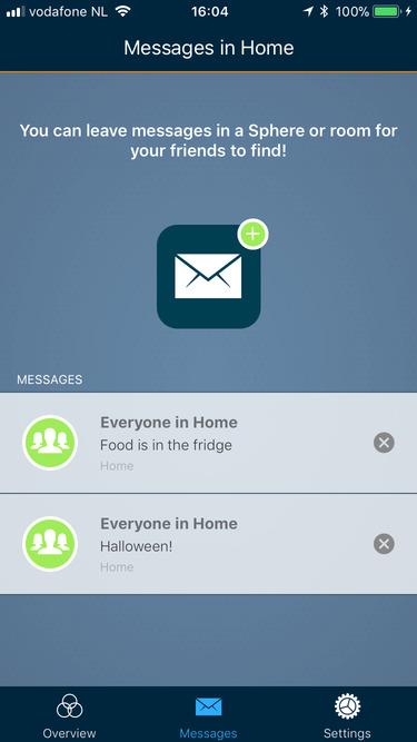 Screenshot messages
