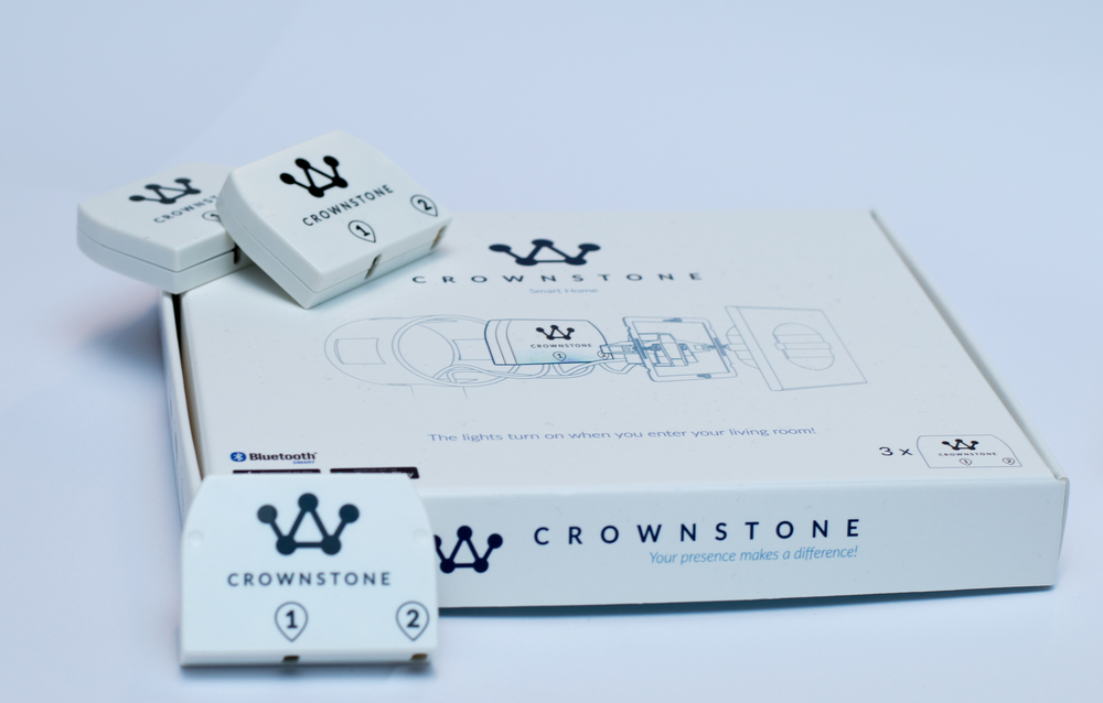 Builtin Crownstones in their packaging