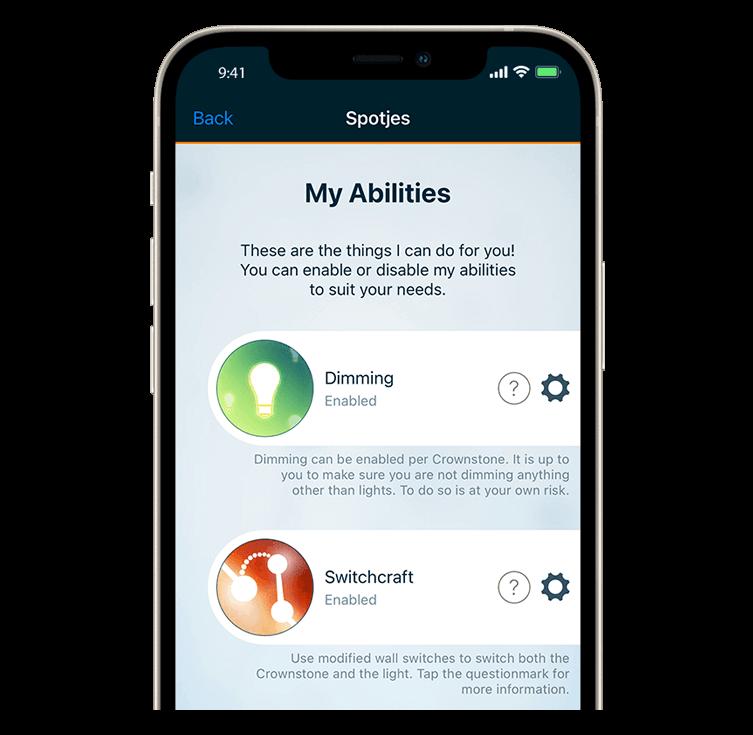 Crownstone app